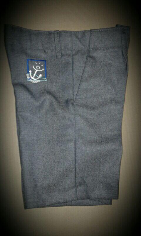 pantalón de vestir corto